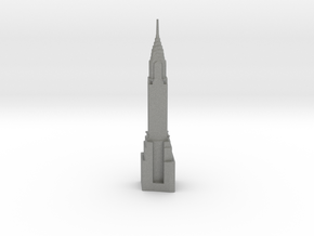 Chrysler Building - New York (6 inch) in Gray PA12