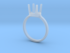diamond ring size 5 in Smoothest Fine Detail Plastic