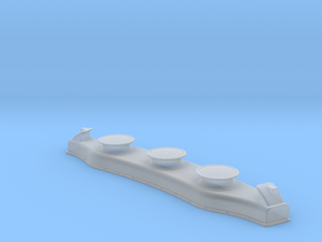 Titanic Aft Curved Fairlead - Scale 1:100 in Smooth Fine Detail Plastic