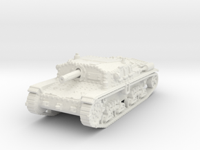 Semovente M42 75/18 1/120 in White Natural Versatile Plastic