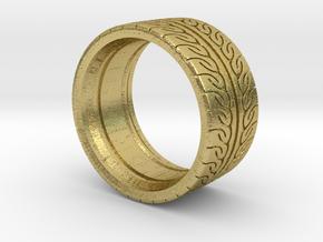 Neova Tire Hexacore Dense in Natural Brass