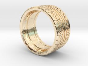 Neova Tire Hexacore Dense in 14k Gold Plated Brass