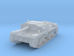 Semovente M42 75/34 1/160 in Smooth Fine Detail Plastic