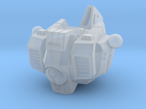 Alternative Commander Torso in Smooth Fine Detail Plastic: d3