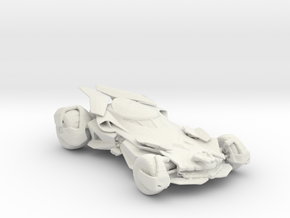 2016 Batmobile 160 scale in White Natural Versatile Plastic