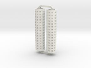 Slimline Pro mesh lathe in White Natural Versatile Plastic