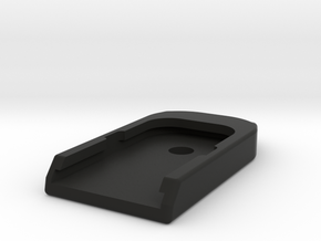 G43X / G48 Base Plate in Black Natural Versatile Plastic