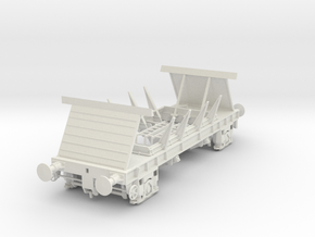 7mm BIS PAA Chassis in White Natural Versatile Plastic