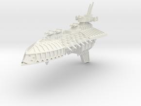 Gran Crucero clase Repulsion in White Natural Versatile Plastic