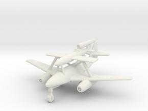 (1:200) Messerschmitt Me 262/Fi-103R Mistel in White Natural Versatile Plastic