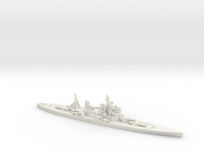 British King George V-class Battleship in White Natural Versatile Plastic