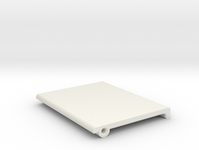 T6 Starboard Forward Master Switch cover. in White Natural Versatile Plastic