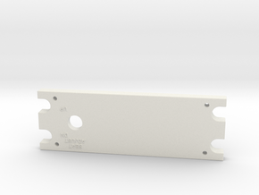 T6 Port Side Seat Panel Cover in White Natural Versatile Plastic