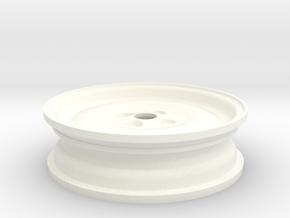 Spare Wheel for Eaglemoss Delorean, 1 of 2 in White Processed Versatile Plastic