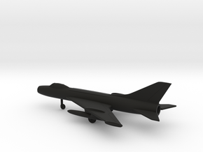 Sukhoi Su-7 Fitter in Black Natural Versatile Plastic: 1:200