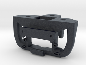 Atlas O Scale F7 Coupler Mount - Polymer Optimized in Black Professional Plastic