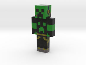 FighterCreeper1 | Minecraft toy in Natural Full Color Sandstone