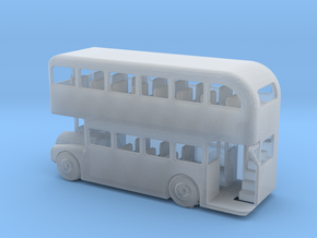 N Scale Double Decker Bus in Smooth Fine Detail Plastic