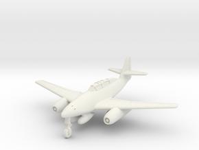 (1:144) Messerschmitt Me 262 B-1a 'Schulflugzeug'  in White Natural Versatile Plastic