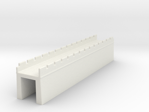 the grat wall of china 6mm 1/285 M in White Natural Versatile Plastic