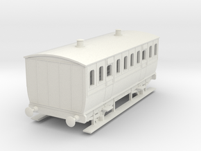 0-100-mgwr-4w-3rd-class-coach in White Natural Versatile Plastic