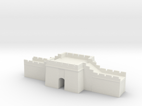 the grat wall of china 6mm 1/285  gate pass  in White Natural Versatile Plastic