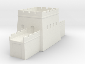 the great wall of china  1/600 tower l   in White Natural Versatile Plastic