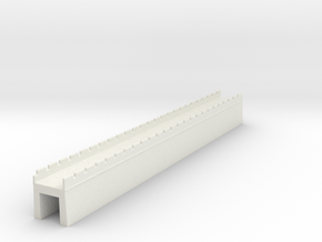 the great wall of china 1/350 l  in White Natural Versatile Plastic