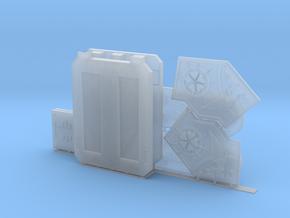 Custom Bloody Rose Sororitas Rhino Doors and Armor in Smoothest Fine Detail Plastic