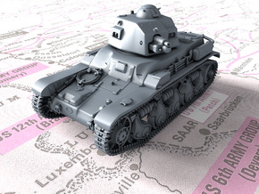 1/35 French Renault R35 (Char léger Modèle 1935 R) in Smooth Fine Detail Plastic
