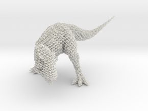 T-Rex Hexacore in White Natural Versatile Plastic