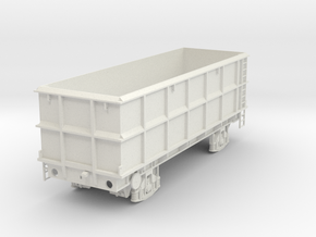 7mm POA Scrap wagon solid in White Natural Versatile Plastic