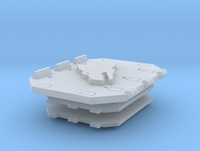 Fire Dragons Jericho Tank Doors set #1 in Smooth Fine Detail Plastic