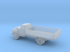 N Scale Flat Bed Truck in Smooth Fine Detail Plastic
