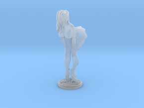Halloween pinup no pumpkin 40mm in Smooth Fine Detail Plastic