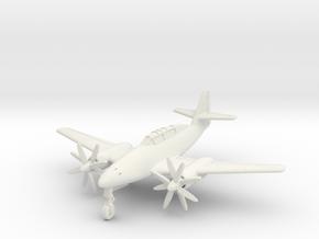 (1:144) Messerschmitt Me 262 B2 Jumo 022 Turboprop in White Natural Versatile Plastic