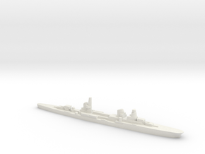 Raimondo Montecuccoli light cruiser 1:3000 WW2 in White Natural Versatile Plastic