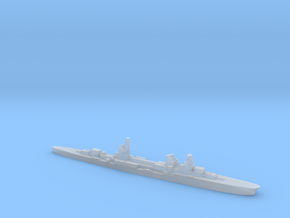 Raimondo Montecuccoli light cruiser 1:3000 WW2 in Smoothest Fine Detail Plastic