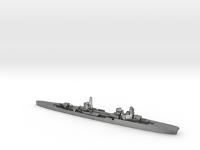 Duca d'Aosta light cruiser 1:3000 WW2 in Natural Silver