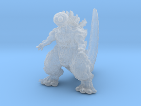 Godzilla Cookie Monster Kaiju Miniature for games  in Smooth Fine Detail Plastic
