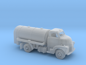N Scale Old Tanker Truck in Smooth Fine Detail Plastic