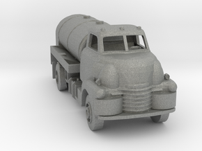 S Scale Old Tanker Truck in Gray PA12