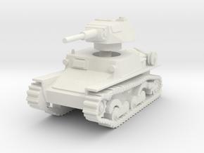 L6 40 Light tank 1/87 in White Natural Versatile Plastic