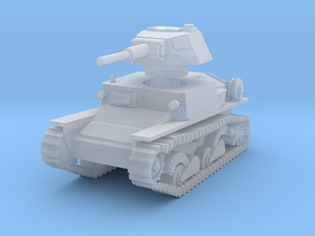 L6 40 Light tank 1/160 in Smooth Fine Detail Plastic