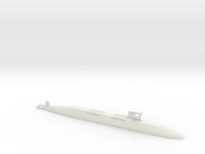 FS Le Triomphant SSBN, 1/1250 in White Natural Versatile Plastic