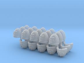 Commission 81 4-7 Mk7/8 Shoulder pads in Smooth Fine Detail Plastic