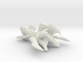 Levianth lite hive cruiser - Concept C  in White Natural Versatile Plastic