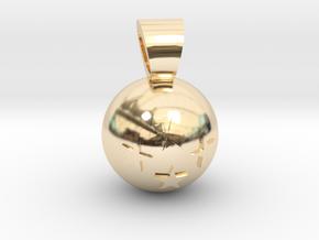 Dragon Ball [pendant] in 14K Yellow Gold