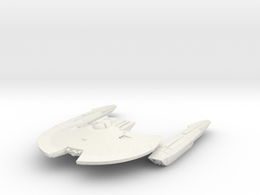 Federation Hawk Class  ScoutDestroyer in White Natural Versatile Plastic