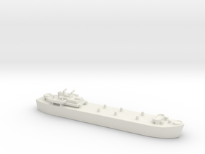 landing ship tank MK3 LST MK3 1/1200 in White Natural Versatile Plastic